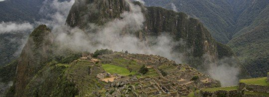 Welcome to Machu Picchu!
